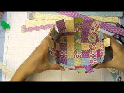 Fun Friday: Paper Basket Weaving
