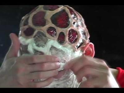 FX Makeup Tutorial 01 - Freddy Krueger's Burns  [01.01.11]