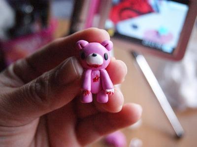 Gloomy Bear: Polymer Clay
