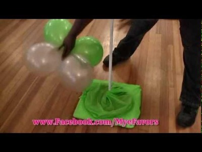 How to Build a Balloon Dance Floor