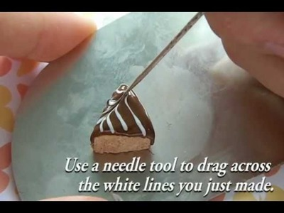 How to make a Cheesecake from polymer clay