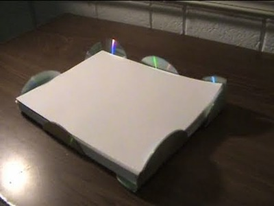 How To Make a Cool Paper Tray Using Cds!