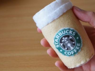 How to Make a Cute Starbucks Coffee Plushie