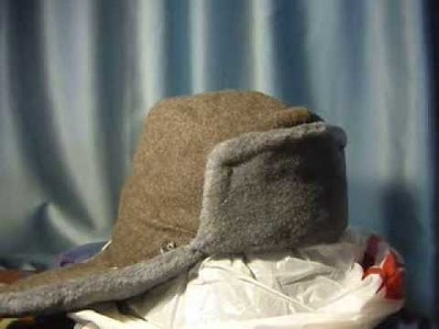 How to make a homemade ushanka hat stretcher