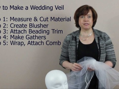 How to Make a Wedding Veil: 5 Steps Summary