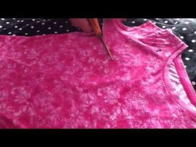 How To Make An AG Doll Shirt