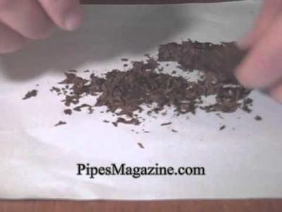 How to Prepare Cake Pipe Tobacco