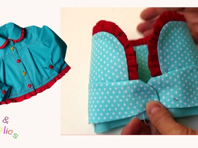How to sew a shirt collar - Megan's Rockabilly Blouse