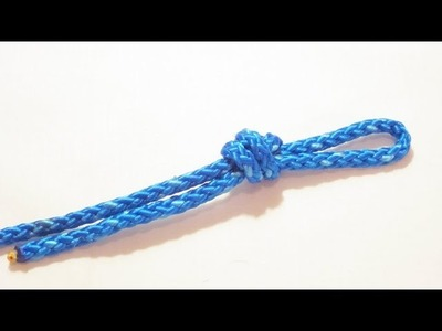 How To Tie An Overhand Loop - Knot