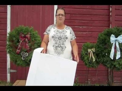 Jen's Wreaths - Custom Wreath Box Project