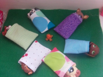 LPS How to make a sleeping bag