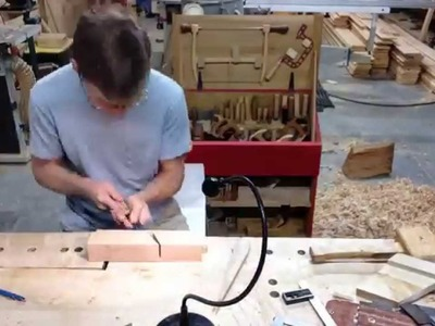 Making A Traditional Wooden Moulding. Molding Plane Time L