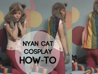 NYAN CAT COSTUME HOW-TO!