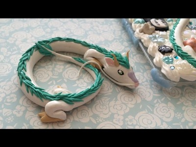 Polymer Clay Haku Dragon Spirited Away Tutorial