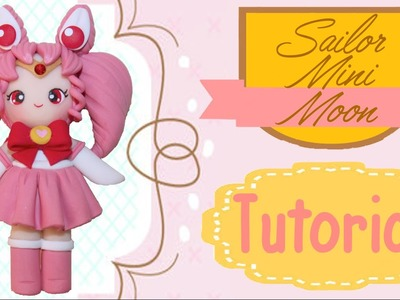 Sailor Mini Moon Chibi | Polymer Clay Tutorial