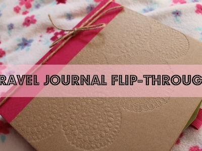 Travel Journal Flip-Through | La De Dah Journal