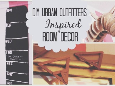 Urban Outfitters Inspired D I Y  Room Decor | Mayllie