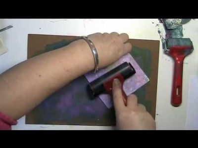 52 PlayDATES Wk 11 - Faux gelli plate printing (with fun.craft foam)