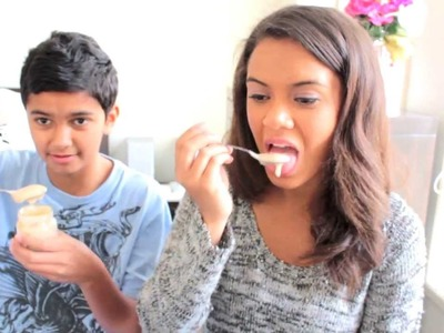 BABY FOOD CHALLENGE WITH JAMIE | TARAAABABY