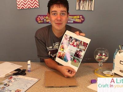 Back to school clip board with Craft Attitude