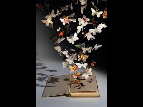 Butterfly Book Sculpture (DIY)