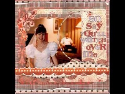 Creative Ideas for wedding scrapbook pages