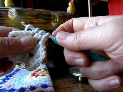 Crochet School :Lesson 6 :Video 2 : 2nd Corner