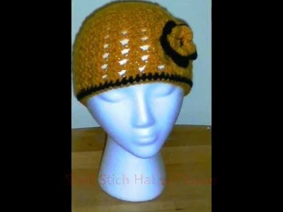 Crochet Shell Stitch Hat Pattern