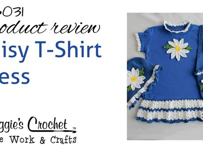 Daisy T Shirt Dress With Hat and Purse - Product Review PB031