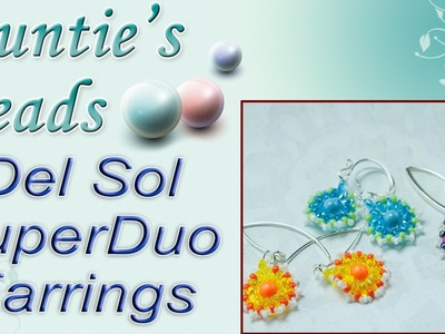 Del Sol SuperDuo Earrings - Karla Kam