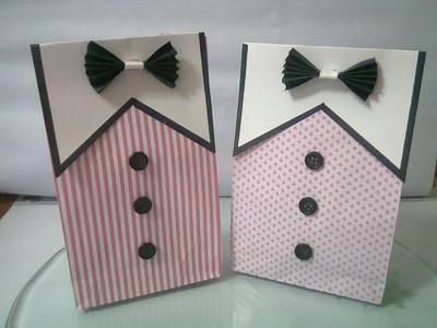 DIY : #4 Cute Paper Bags For Gift ♥