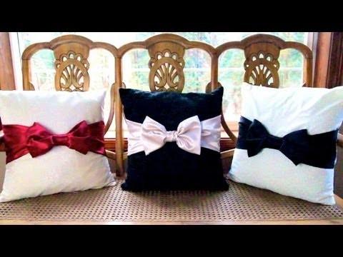 DIY Bow Pillows! ❄ Christmas Countdown