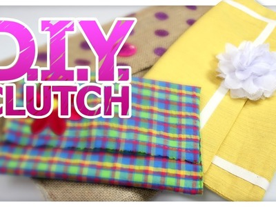 DIY Clutch Purse - Do It, Gurl