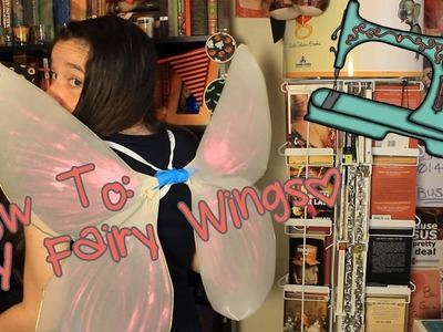 DIY Fairy Wings | Last Minute Halloween Costume Idea