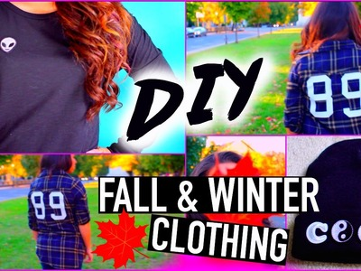 DIY fall clothes: Tumblr Inspired