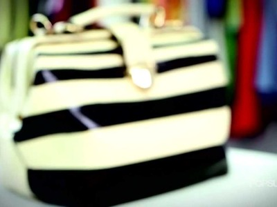 DIY Fashion | Marc Jacobs's Inspired Striped Bag | Designer DIY