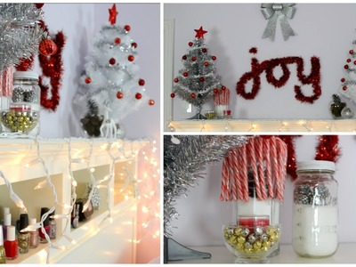 DIY Holiday Room Decorations ❄ Easy & Cheap
