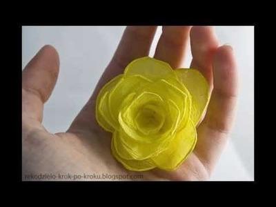 DIY Paper crafts :: Crepe paper Flower - Innovative paper arts