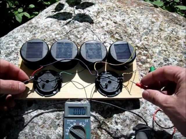 DIY Solar Garden Light Hack - Solar Battery Charger