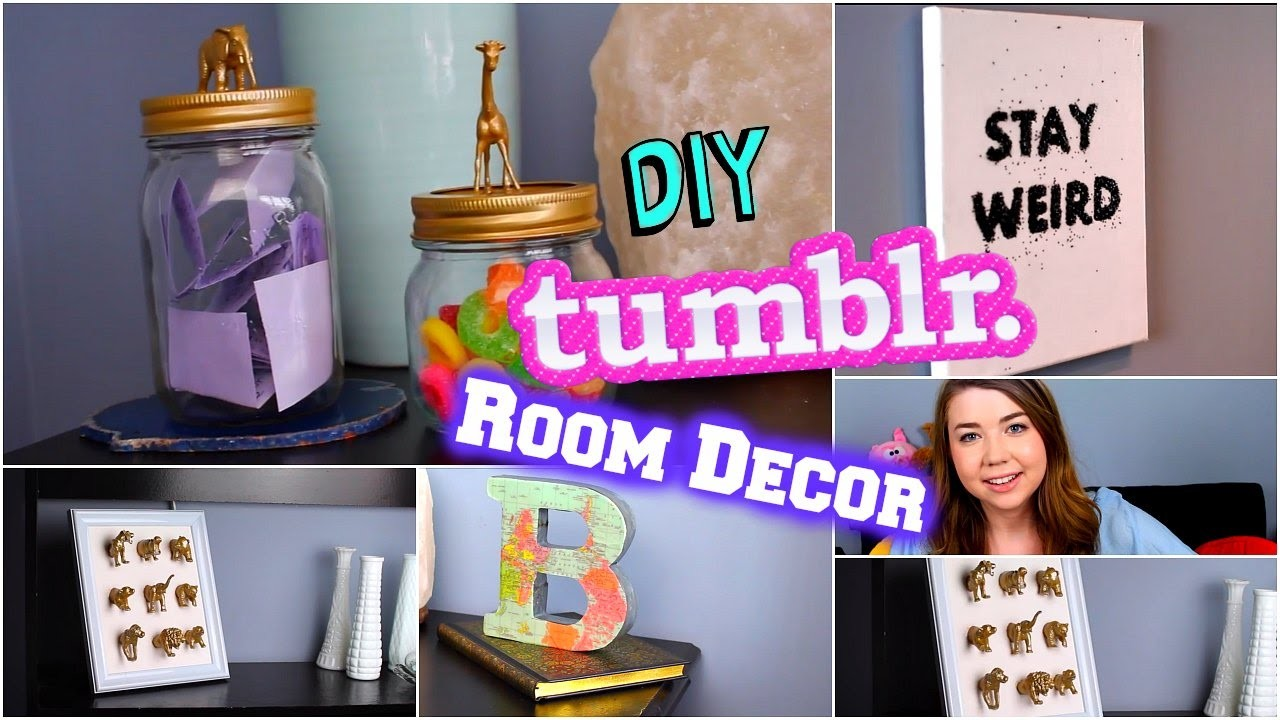 DIY Tumblr Room Decor 2015! Tumblr Inspired DIYs! Cheap + Easy!