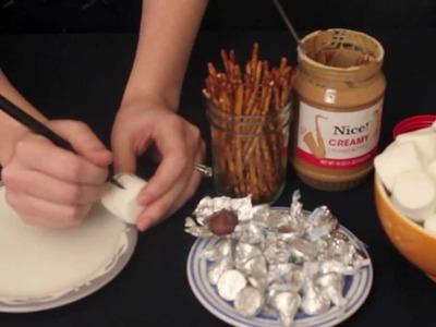 Edible Hanukkah Craft for Kids