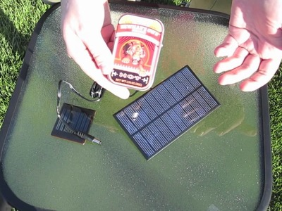 Heavy Duty Solar USB Charger