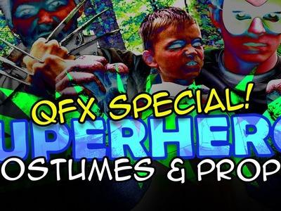 Homemade Movie Superhero Costume and Props DIY - QUICK FX