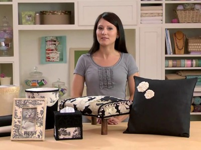 How-To Create Custom Home Decor with Conso(R) and Fabric