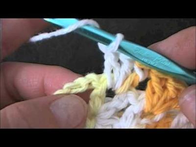 How to Crochet a girls Shrug Part 4