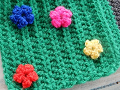 How to Crochet Mini Flowers & Vegetables - CAL Ep5 Part 2 Road Play Mat