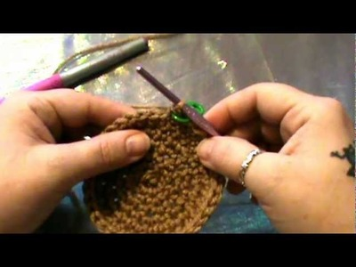 "How to Crochet my ""Monkey Critter Beanie""- Rows 1-8 (Video 1)"