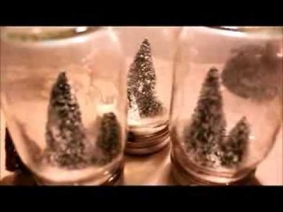 How to Make a Snow Globe - Christmas DIY Craft Project