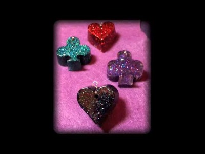 HOW TO: Make glitter charms || DIY Project