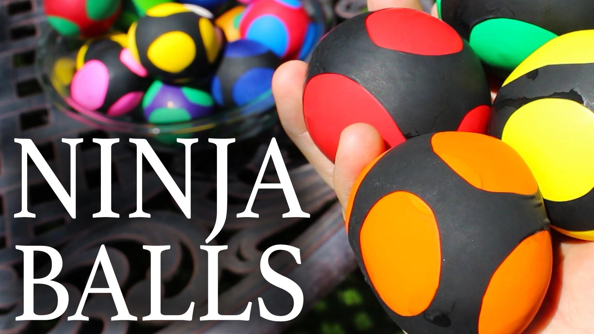 How to Make Ninja Squishy Balls!